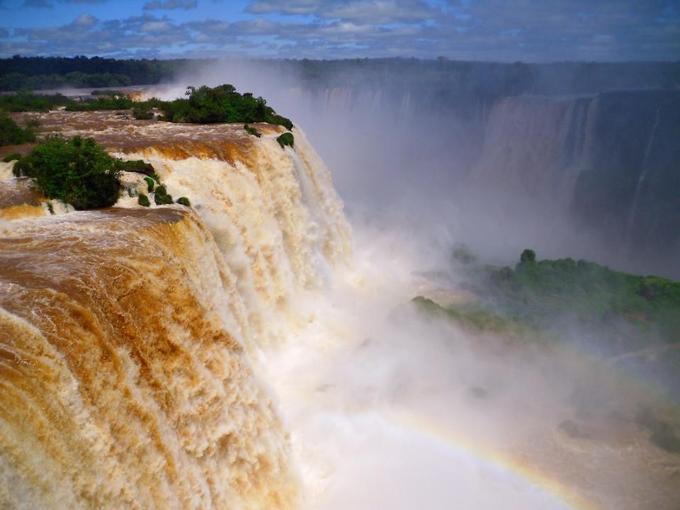Cataratas do Iguaçu, PR | Foto Pixabay