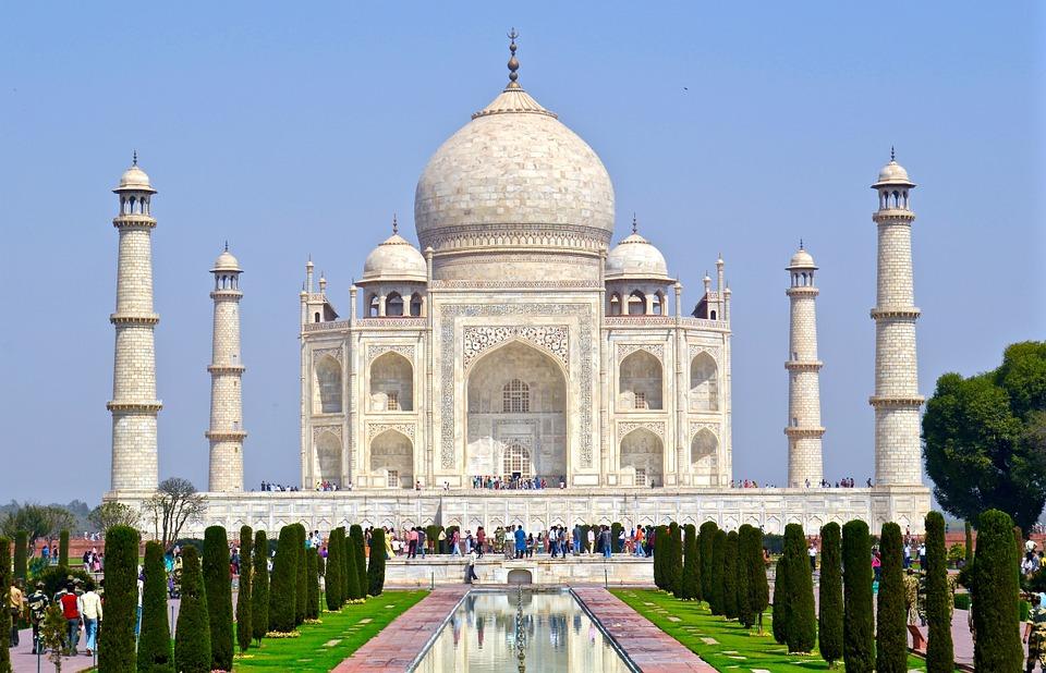 Taj Mahal, Templo na Índia, Patrimônio da Humanidade | Foto Pixabay