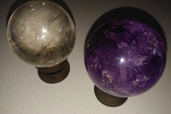 Esferas | Galeria de Cristais & Pedras | Dimensão da Natureza | Foto Robriane Lara