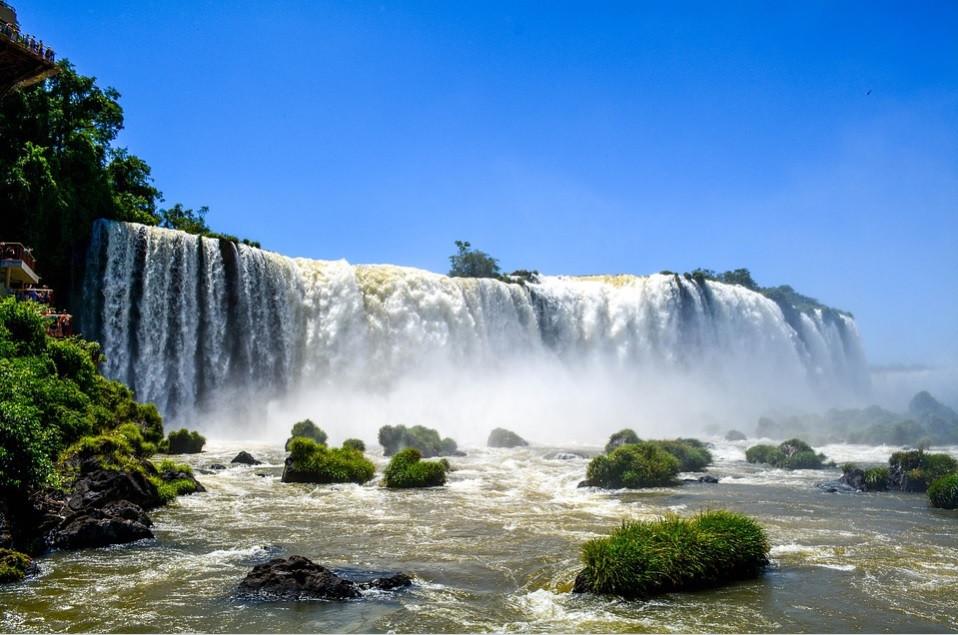 Cataratas do Iguaçu – Brasil | Foto Pixabay