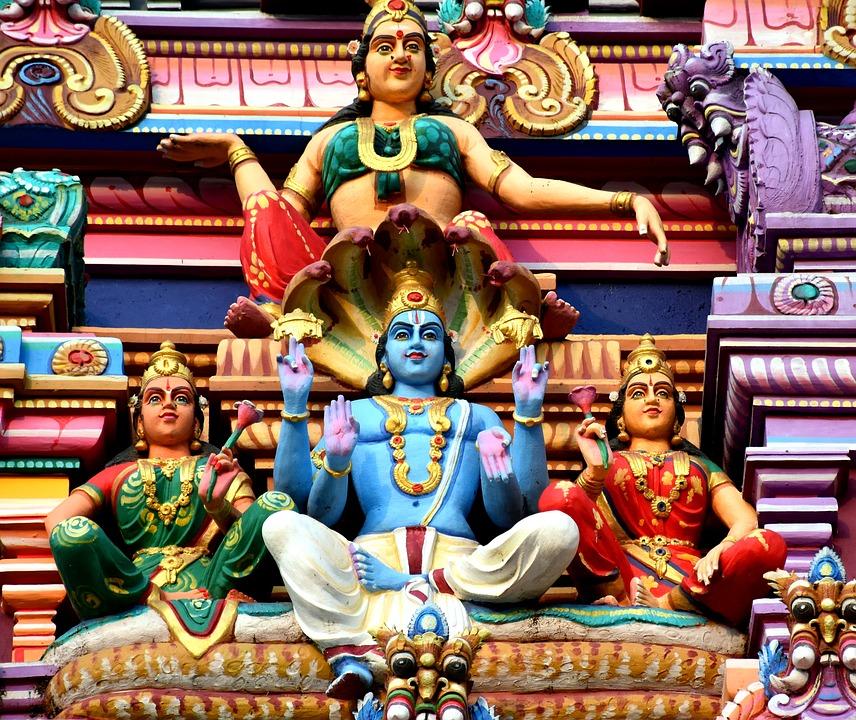 Deus Hindu Vishnu | Foto Pixabay