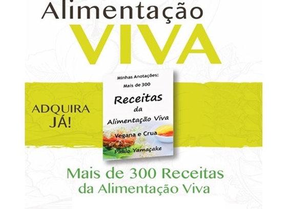 Ebooks Receitas Vivas e Veganas