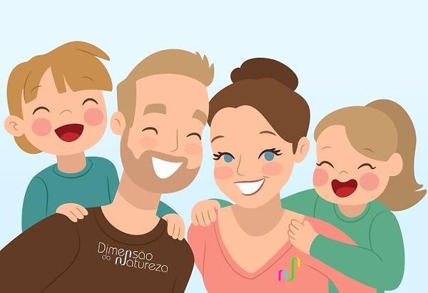 Crianças Naturalmente Felizes!