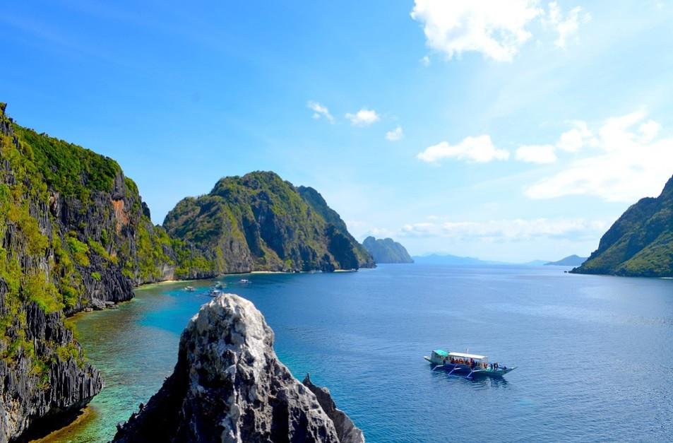 Passeios de barco no Parque Nacional de Puerto Princesa, Filipinas | Foto Pixabay