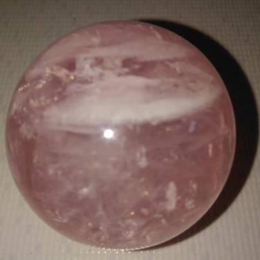 Esfera de Quartzo Rosa