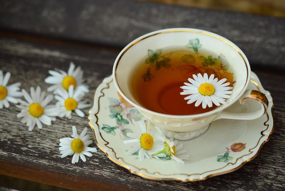 Xícara de chá com flores | Foto Pixabay