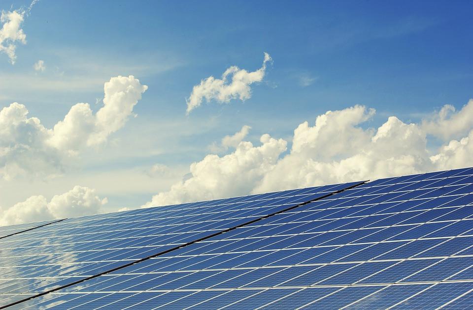 Painel de Energias Renováveis | Foto Pixabay