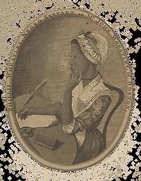 Phillis Wheatley, After (?) Scipio Moorhead, 1773, Public Domain