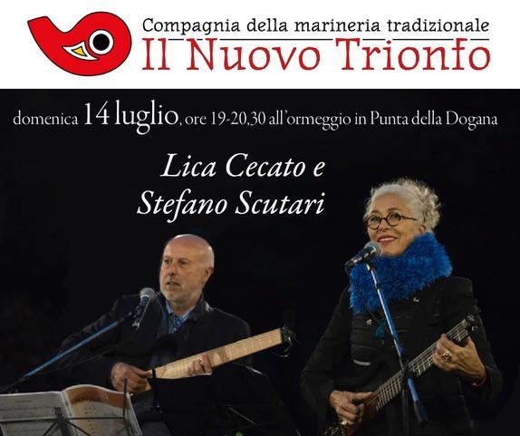 Concert Lica Cecato & Stefano Scutari 14 July Venice