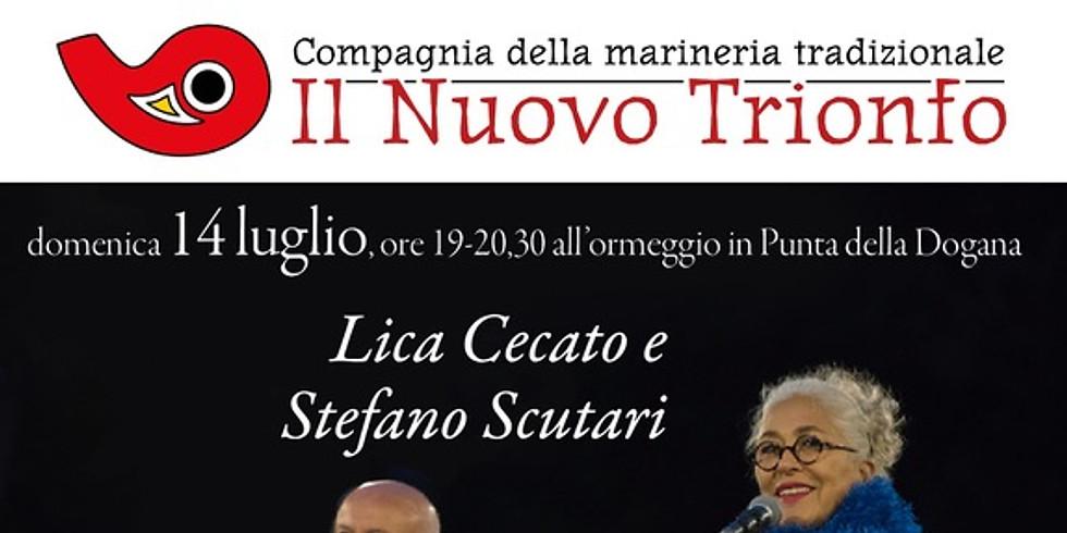 Lica Cecato & Stefano Scutari @ Il Nuovo Trionfo