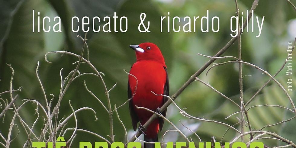 NEW SINGLE Tiê pros meninos (Lica Cecato & Ricardo Gilly)
