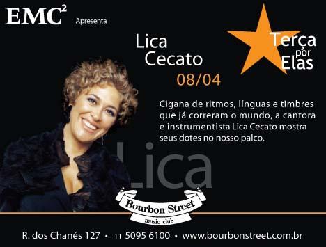 Lica Cecato at Bourbon Street