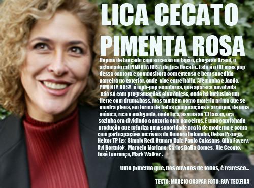 CD PIMENTA ROSA