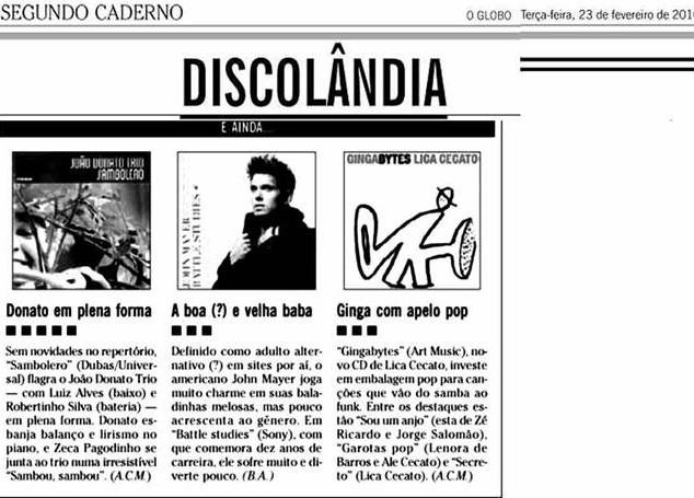 CD Gingabytes by Lica Cecato
