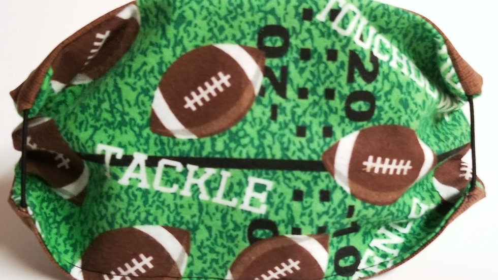 Football Tackle Touchdown Mask