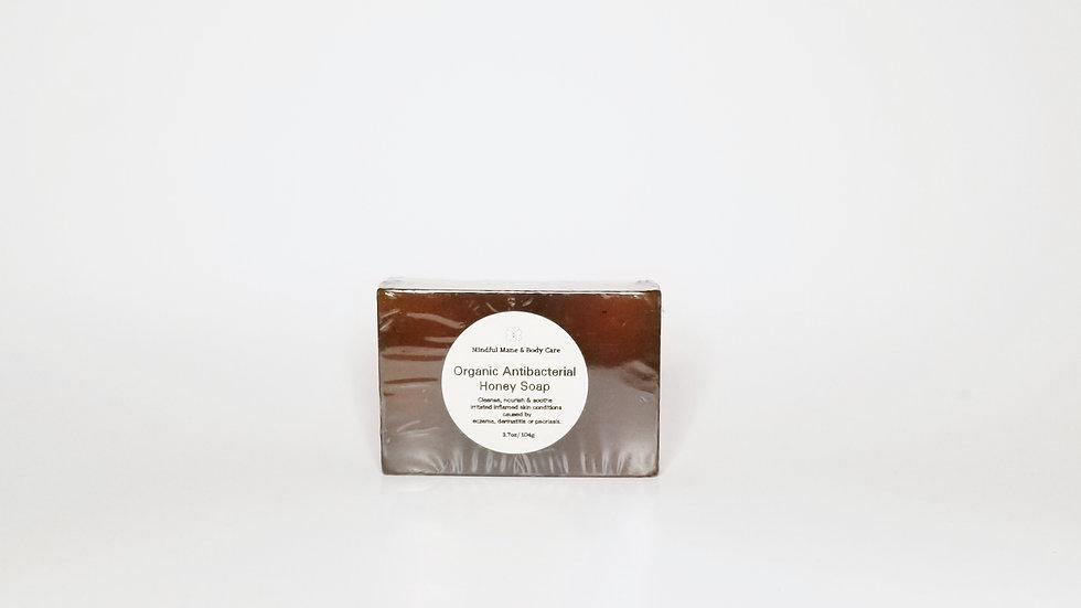 Mindful Mane & Body Care™ Organic Antibacterial Honey Soap