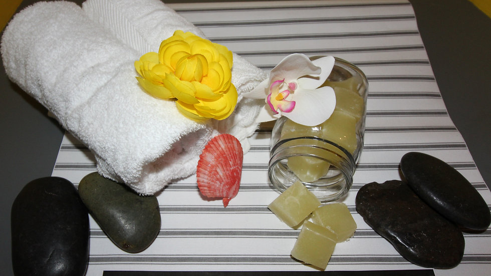 Kimmie Essential™ Citrus Sugar Soap Scrubs