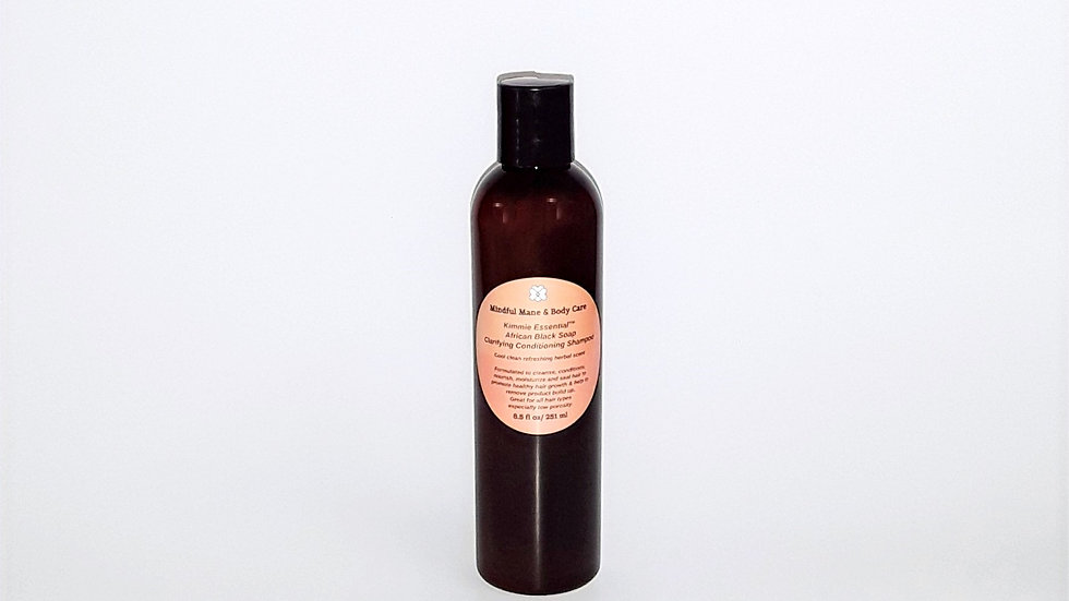 Kimmie Essential™ African Black Soap Clarifying Conditioning Shampoo