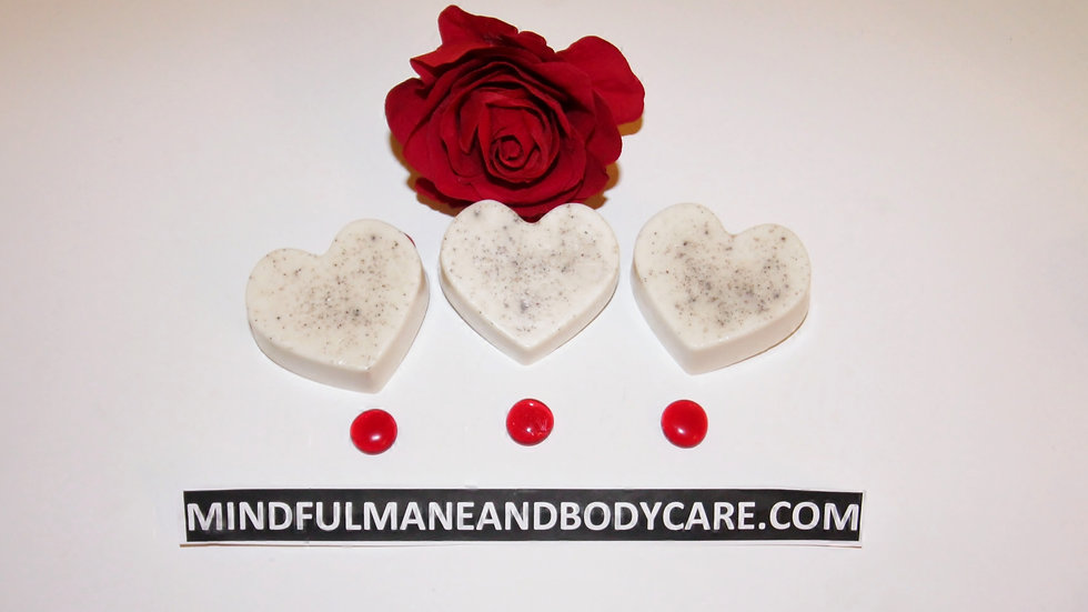 Kimmie Essential™ Rose Heart Soap Bar
