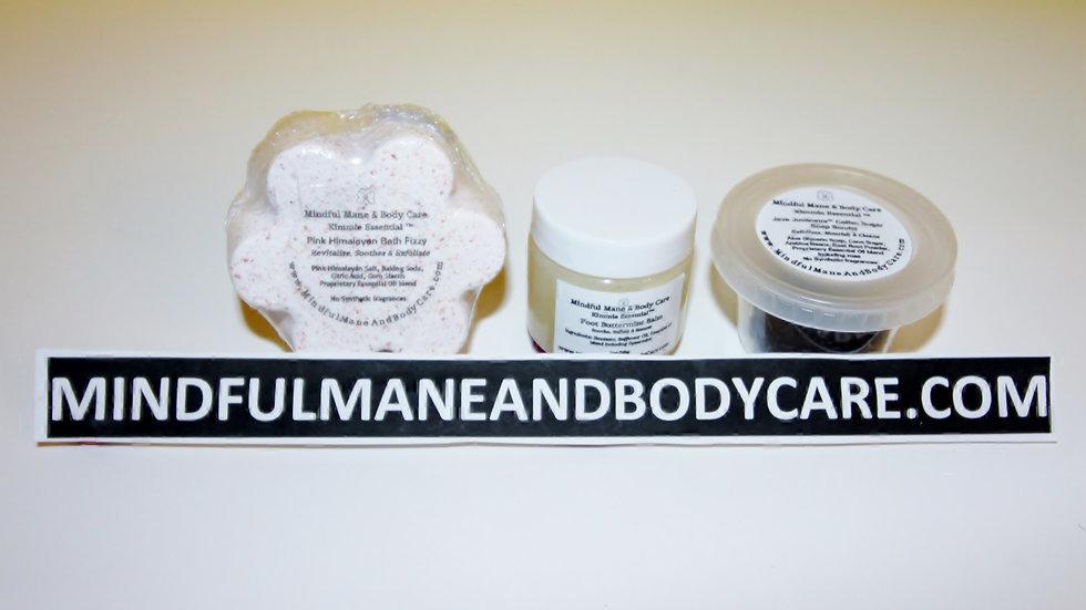 Kimmie Essential ™ Flower Foot Bath Bomb Pack