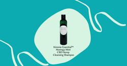 Kimmie Essential™ Moringa Mint CBD Hemp Cleansing Shampoo