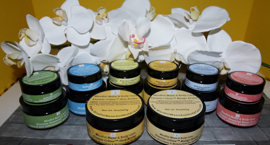 Mindful Mane & Body Care Natural Hair & Body Butters