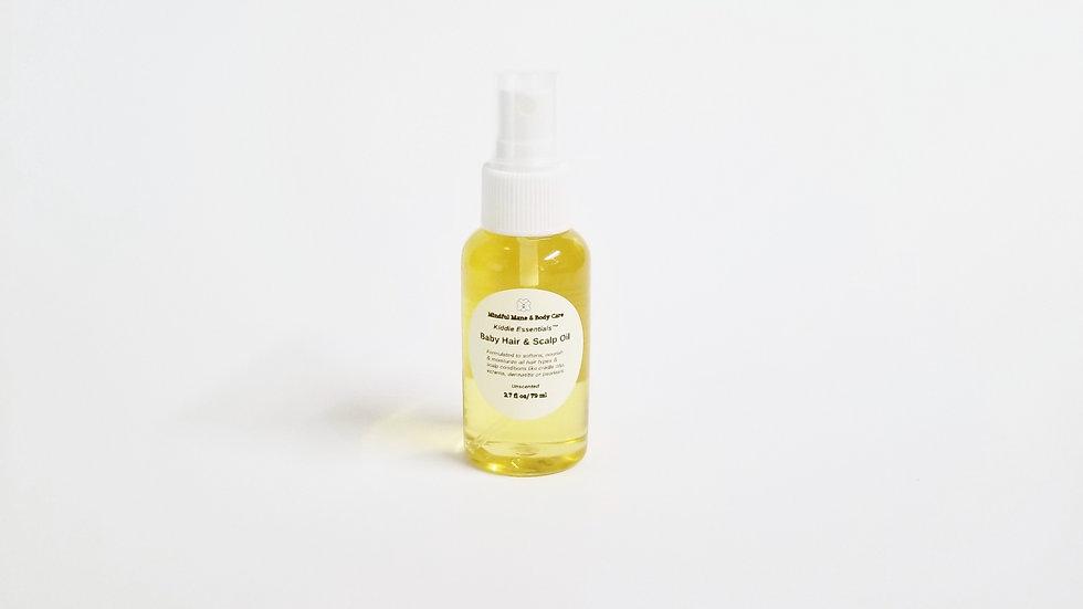 Kiddie Essentials™ Baby Hair & Scalp Oil
