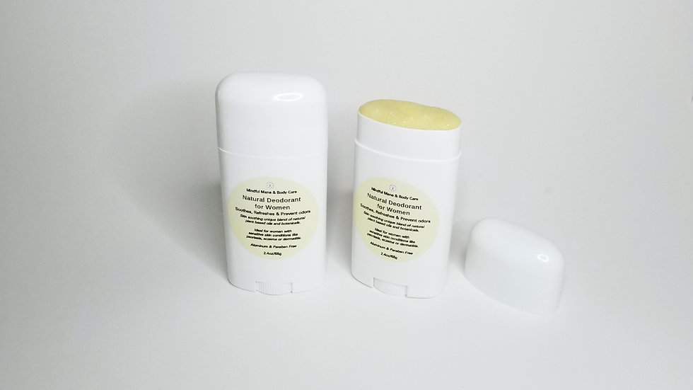 Mindful Mane & Body Care™  Natural Deodorant for Women
