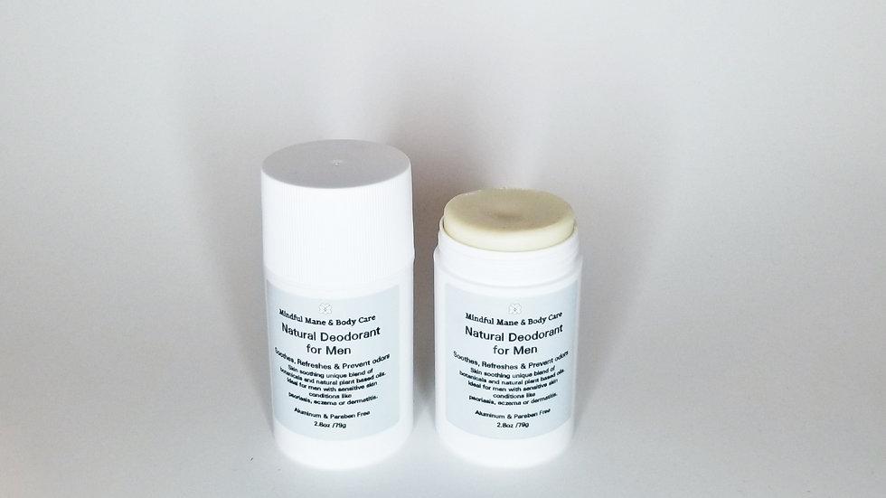 Mindful Mane & Body Care™  Natural Deodorant for Men