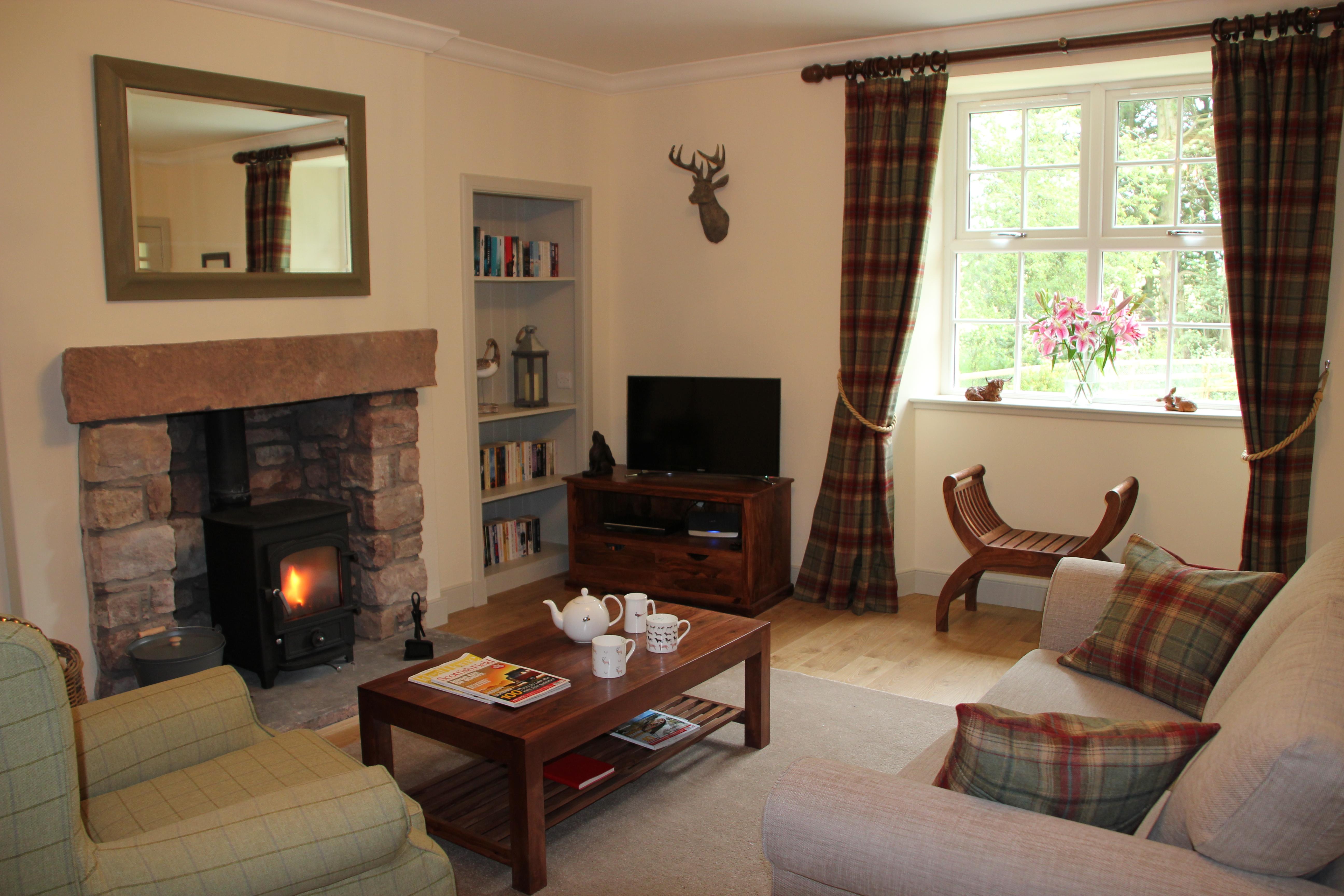 Curlew Cottage sittingroom