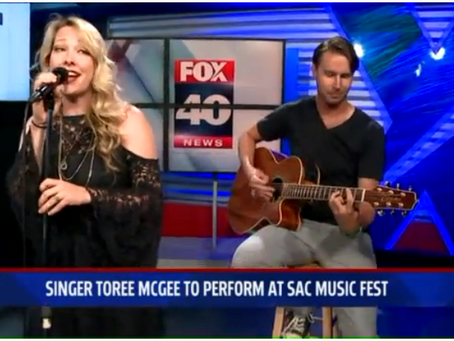 Fox 40 News - Rock 'n' Roll Country Singer Toree McGee Among Sac Fest Lineup
