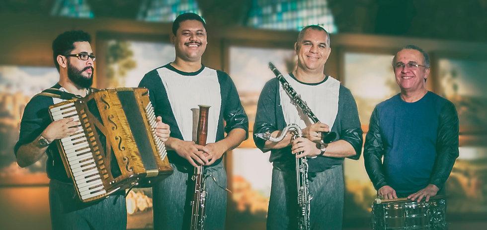 Quarteto_Júlio Cesar Mendes, Josias Bez