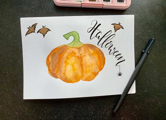 """Karte """"Halloween"""""""