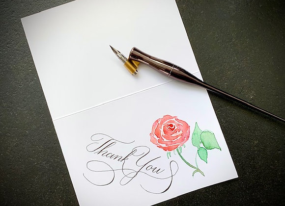"Karte ""Thank You"""