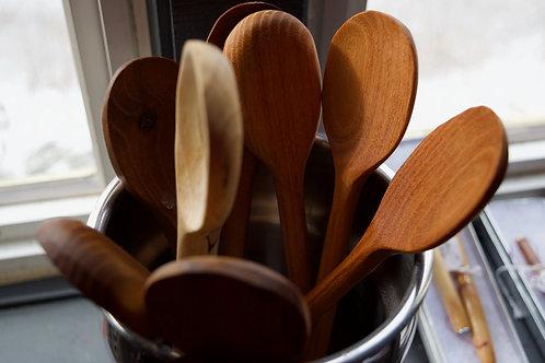 Various Wood Spoons