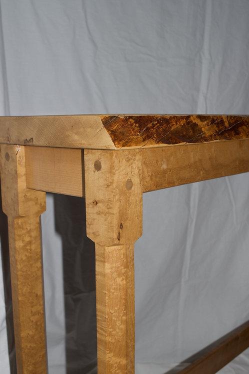 Figured Maple Table