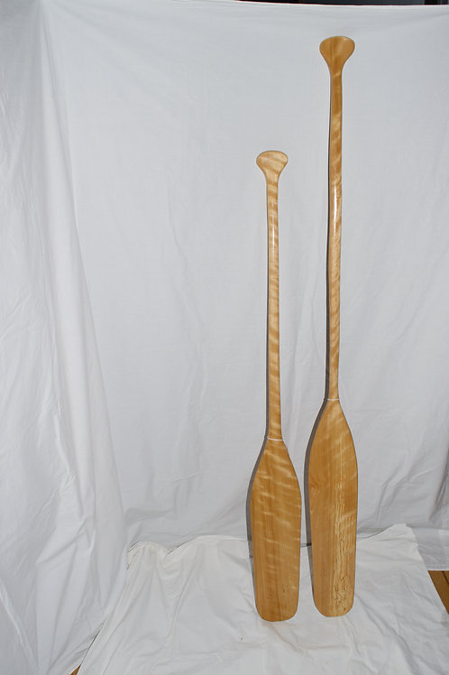 Figured Birch Paddles