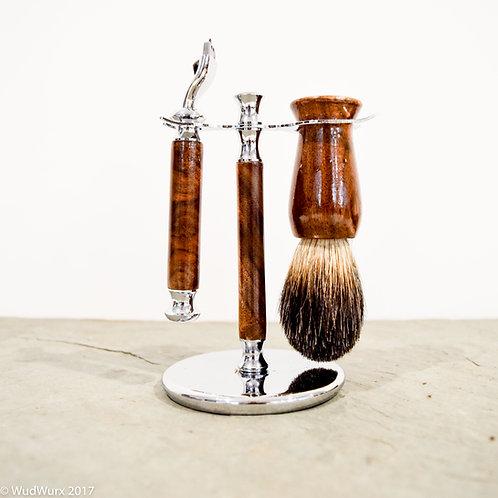 Walnut Shaving Kit
