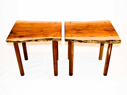 Couch Side Tables -Book-Ended Wild Apple