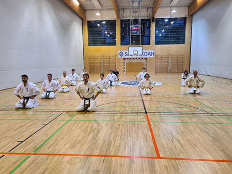 Kubek Dojo startet regelmäßigen Trainingsbetrieb mit Covid 19-Schutzkonzept