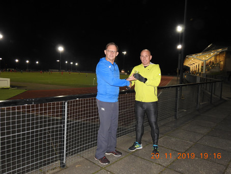 WMAA becomes Welsh Masters Athletics Limited and i catch up with Dean Webster!