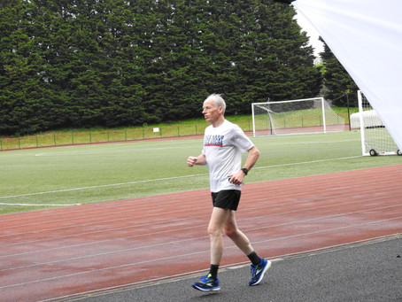 Two Days Two Records! Ifan Lloyd Breaks his own 3000m M60 record and 3000sc and WINS BMAF Title.