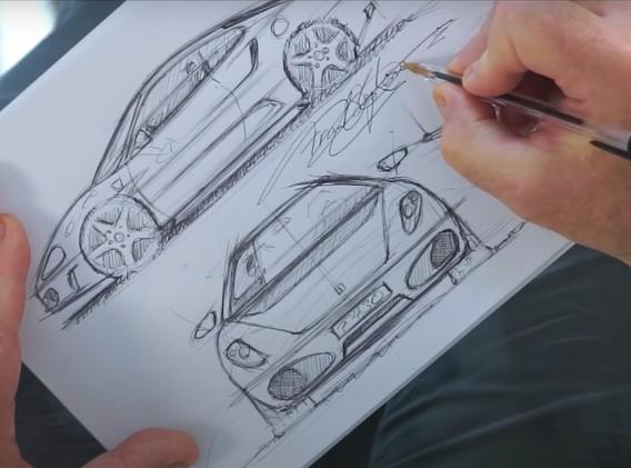 Franks Ferrari F430 Sketch
