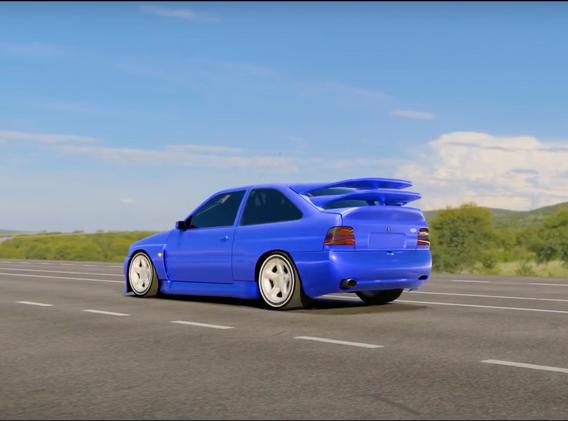 Ford Escort Cosworth Wide