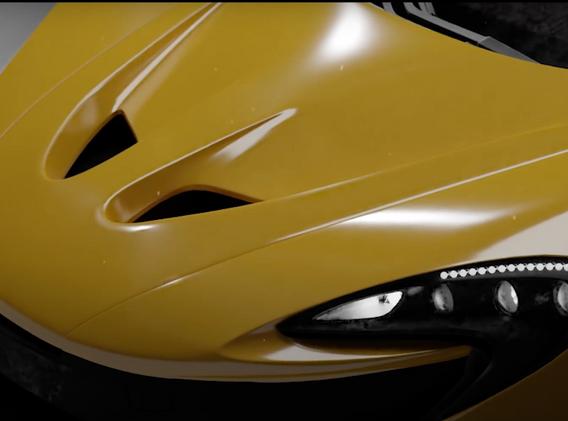 McLaren P1 Detail