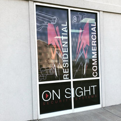 Window Perf Signage