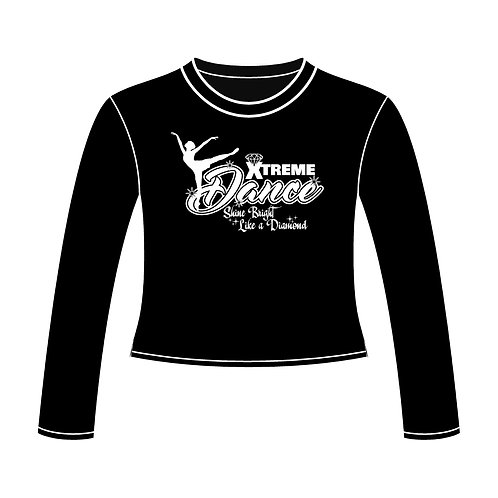 Xtreme Dance Recital: Cropped Crew Fleece