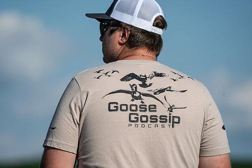 Goose Gossip Podcast Short Sleeve Tee