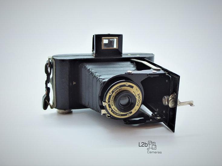 Kodak SIX-20 Folding Brownie Camera Boxed