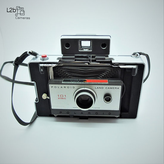Polaroid 101 Automatic Instant Land Camera & Case